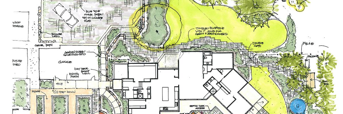 landscape schematic sketch DA